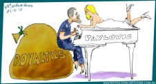 Pavlovic white baby grand royalties Margin Call Business Australian 2010-08-25