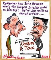 2011-03-08 poll slams carbon tax Brown Swan 450