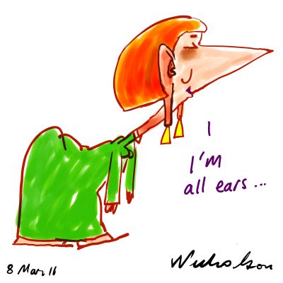 julia gillard 2011. Julia Gillard all ears as she