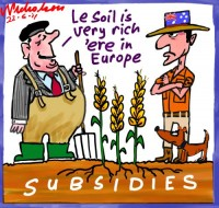 2011-06-22 Agricultural subsidies Europe v free trade 500