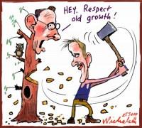 2011-06-25 Nick McKim disagrees Bob Brown on logging 500