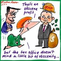 2011-08-25 BHP record profit 500