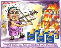 2011-11-12 emperor berlusconi fiddles 650