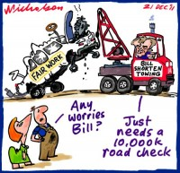 2011-12-21 Fair Work Bill Shorten road check 500