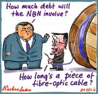 2011-12-23 Hockey wants debt ceiling NBN 500