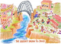 Aborigines Reconcilation hardest bridge 530