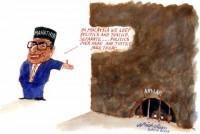 Malaysia Mahatir jails Anwar 520