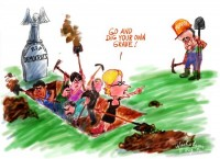 Aug Democrats, Murray dig own grave wb550