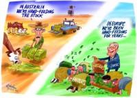 Drought agriculture subsidies farm Chirac 520
