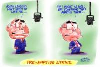 Howard pre-emptive strike Asia 1m