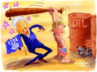 Iraq Bush kill Saddam rat hits UN 1M