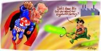 Rumsfelt Saddam and Kryptonite 1