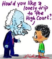 Refugees trip to high court .3