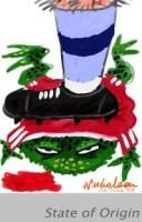 State of Origin toad squash 200312