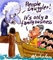Vietnamese boat family business  .5