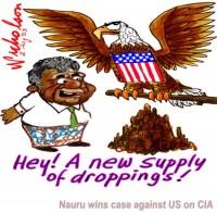 Nauru CIA funds droppings wb