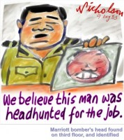 Head hunted for job wb