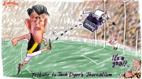 Tibute to Jack Dyer 600