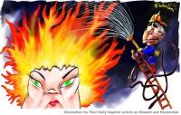 Howard Hanson extinguish flames 600wb