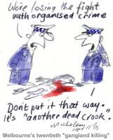 Melbourne orgainized crime killing 450wb