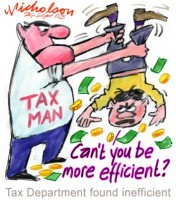 Tax man should be more efficient 350wb