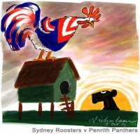sydney roosters v penrith panthers 350wb