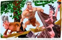 Schwarzenneger Reagan Tarzan 600wb
