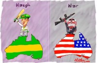 Steve Waugh retirement nationalism Iraq 500wb