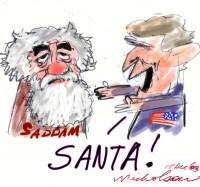 Christmas Bush Saddam caught unpublished 300