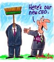 Stewart new CEO broom 2000226