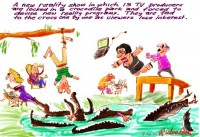 reality TV producers fed to crocs 450wb