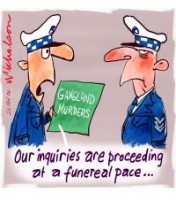 Melbourne gangland murders funereal 200226