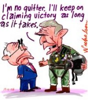 Bush no quitter Iraq victory 200226