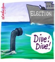 Submarine Co no sale befor election 200