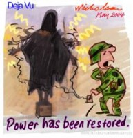 Iraq Power restored Baghdad unpublished 226233
