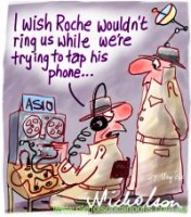 ASIO not listen Roche terrorism 200226
