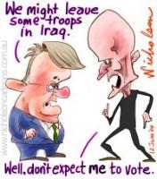 Latham Iraq troops garrett 200