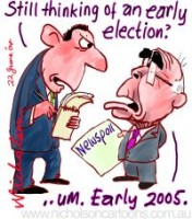 Poll dampens early election move 200226