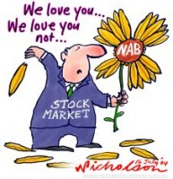 Stock market may end love NAB 226233