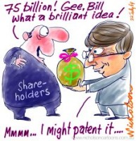Bill Gates to shareholders 75 billion 226233