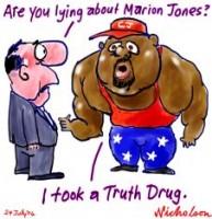 C J Hunter Marion Jones drugs sport 226233
