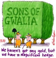 Sons of Gwalia currency hedge disaster 226233