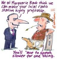 Rural radio Macquarie Bank 226233