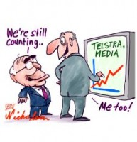 Telstra, Media up 226