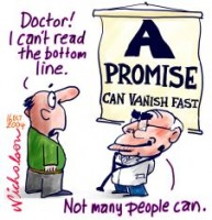 Health promise vanishes quickly 226