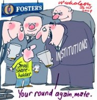 Fosters small shareholders raw deal 226