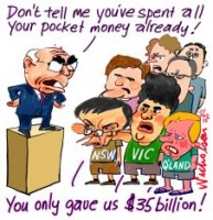 GST State Premiers spend it 226