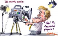 Joh Bjelke Petersen and the media 450