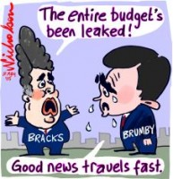 Victorian budget all leaked 226