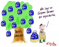 European farmers subsidies tariffs 450